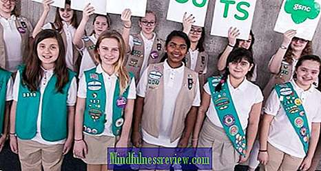 The Girl Scouts omfamnar lycka